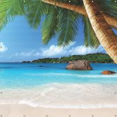 - ONE-WAY™ Printed Welding Screens: Tropical Island