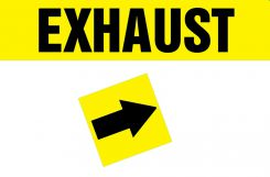 - Duct Marker: Exhaust