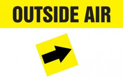 - Duct Marker: Outside Air