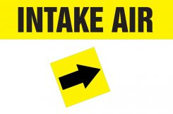 - Duct Marker: Intake Air