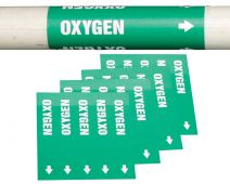 - Medical Gas Pipe Marker: Helium