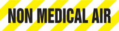 - Medical Gas Pipe Marker: Non Medical Air