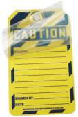 - Custom Self-Laminating RP-Plastic Tags