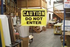 - OSHA Caution Elastic-Corded Banner: Do Not Enter
