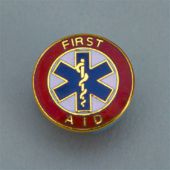 - Safety Recognition Pin: First Aid