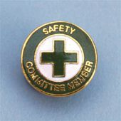 - Safety Recognition Pin: Safety Committee Member