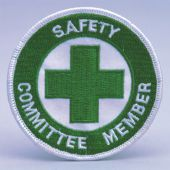 - Safety Recognition Patch: Safety Committee Member