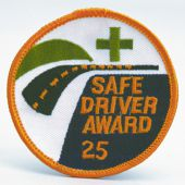 - Safety Recognition Patch: Safe Driver Award (25 Years)
