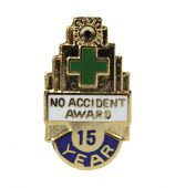 - Safety Recognition Pins: No Accident Award