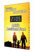 - Digi-Day® 3 Electronic Safety Scoreboards: Because Safety Matters __ Days Accident Free