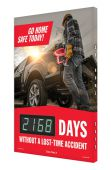 - Digi-Day® 3 Electronic Safety Scoreboards: Go Home Safe Today!