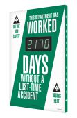 - Digi-Day® 3 Electronic Safety Scoreboards: This Department Has Worked _ Days Without A Lost Time Accident
