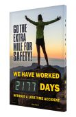 - Digi-Day® 3 Electronic Safety Scoreboards: Go The Extra Mile For Safety