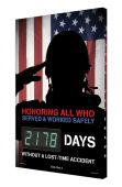 - Digi-Day® 3 Electronic Safety Scoreboards: Honoring All Who Served And Worked Safely