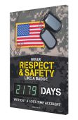 - Digi-Day® 3 Electronic Safety Scoreboards: Wear Respect & Safety Like A Badge