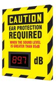 - OSHA Caution Industrial Decibel Meter Sign: Ear Protection Required When The Sound Level Is Greater Than 85 dB