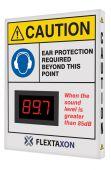 - Custom Decibel Meter Sign