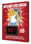- The Simpsons™ Decibel Meter Safety Sign