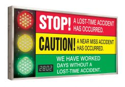 - Digi-Day® 3 Electronic Signal Scoreboards: We Have Worked _ Days Without A Lost Time Accident