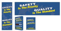 - Safety Campaign Kits: Safety Is The Priority - Quality Is The Standard