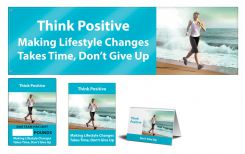 - WorkHealthy™ Motivational Sets: Think Positive - Don't Give Up