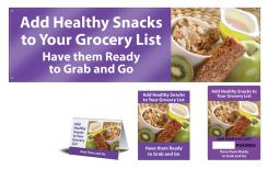 - WorkHealthy™ Motivational Safety Sign Set: Add Healthy Snacks To Your Grocery List