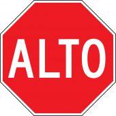 - STOP SIGN - SPANISH
