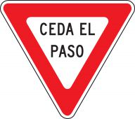 - Spanish Traffic Signs - Yield