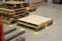 - Slip-Gard™ Floor Shapes: 6-in. Circle