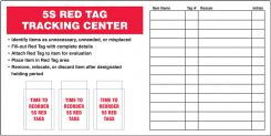 - Mark-It™ Red Tag Tracking Centers