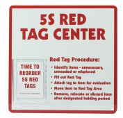 - 5S Red Tag Center