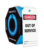 - OSHA Danger Tags By-The-Roll: Out Of Service