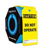 - OSHA Caution Tags By-The-Roll: Do Not Operate