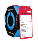 - Safety Tags By-The-Roll: 5S Red Tag