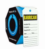 - Tags By-The-Roll: Barricade Tag