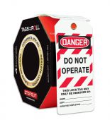 - STOPOUT® OSHA Danger Tags By-The-Roll With Grommets: Do Not Operate