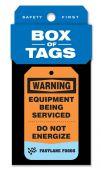 - Custom Box of Tags