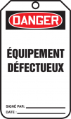 - Safety Tags - French
