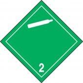 - TDG Shipping Labels: Hazard Class 2: Non-Flammable Gas