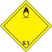 - TDG Label – Class 5