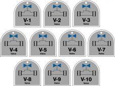 - Energy Source Identification ShapeID Tag Series: Valve
