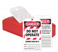 - OSHA Danger QuickTags™: Do Not Operate