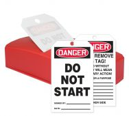 - OSHA Danger QuickTags™ : Do Not Start
