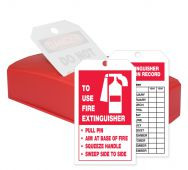 - QuickTags™: Fire Extinguisher Inspection Record