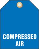 - Valve Identifier Plastic Tag - Compressed Air