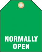 - Valve Identifier Plastic Tag - Normally Open