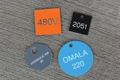 - Custom Accu-Ply™ Plus Engraved Tags - 1/8-in Thick