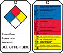 - Safety Tag: Hazardous Material (NFPA and HMCIS)