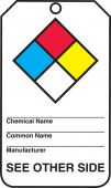 - Safety Tag: Hazardous Material - Dual Sided