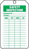 - Mini Tags: Safety Inspection